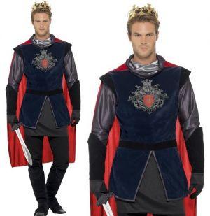 Mens Deluxe King Arthur Costume