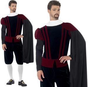 Mens Deluxe Tudor Lord Costume