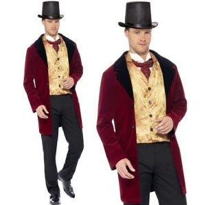 Mens Deluxe Edwardian Gent Costume