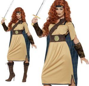Ladies Warrior Queen Costume