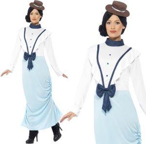 Ladies Posh Victorian Costume