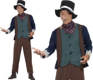 Mens Poor Victorian Dodger Costume
