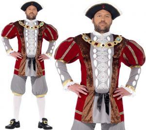 Mens Deluxe King Henry VIII Costume