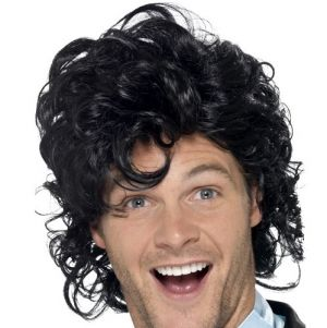 80s Prom King Wedding Singer Wig