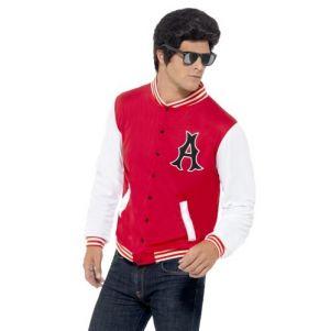 Mens 50s College Letterman Jacket