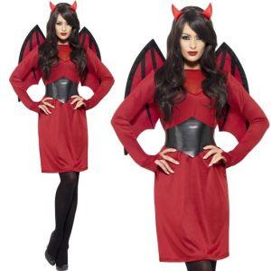 ladies economy devil costume