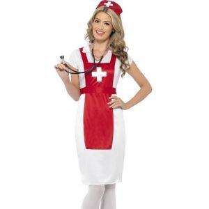 Ladies A & E Nurse Fancy Dress Costume