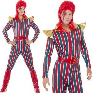 80s Space Superstar Fancy Dress Costume