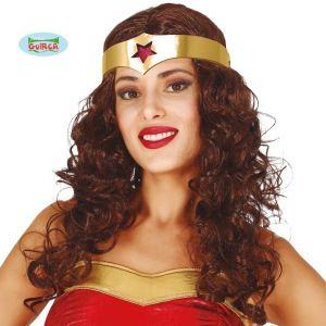 Wonder Heroine Wig & Headpiece