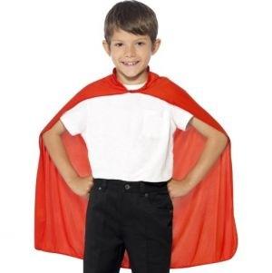 Childrens Fabric Cape in Red