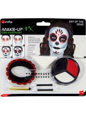 Halloween Mexican Day of the Dead Make Up Kit