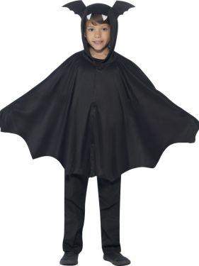 Childrens Hooded Fabric Bat Cape