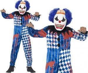 Boys Halloween Sinister Clown Costume