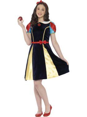 Ladies or Teen Snow White Costume