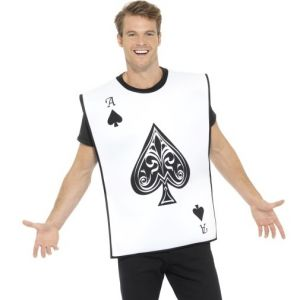 Adult Playing Card Fancy Dress Costume