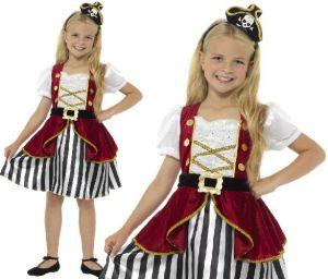 Girls Deluxe Pirate Girl Costume