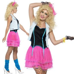 80s Wild Girl Fancy Dress Costume
