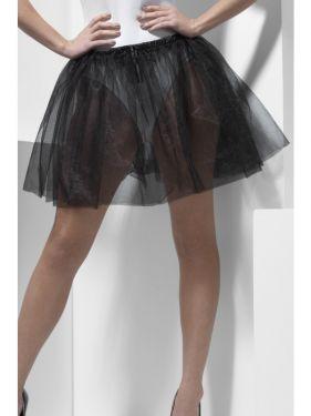 Ladies Black Petticoat Underskirt