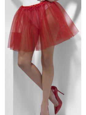 Ladies Red Petticoat Underskirt