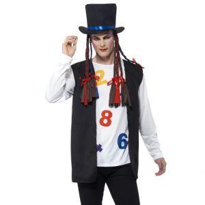 80s Pop Star Boy George Costume
