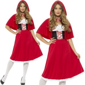 Ladies Longer Little Red Riding Hood Costume