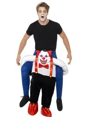 Halloween Piggy Back Sinister Clown Costume