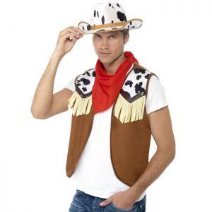 Cowboy Fancy Dress Instant Kit
