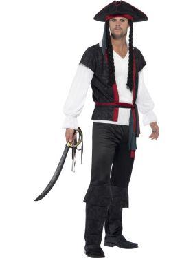 Mens Aye Aye Captain Pirate Costume