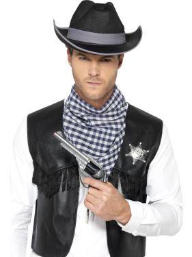 Cowboy Fancy Dress Instant Western Kit