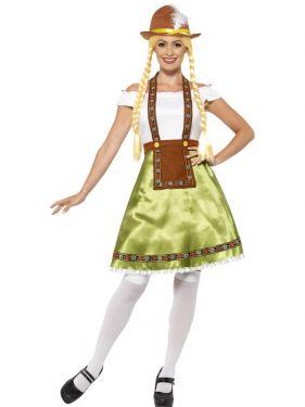 Ladies Oktoberfest Bavarian Maid Costume