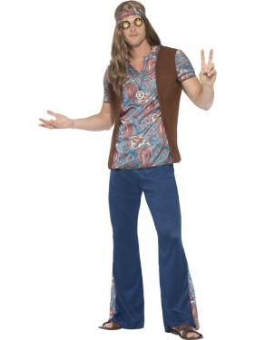 Mens 60s Orion the Hippy Costume
