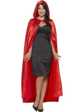 Adult Hooded Cape - Red