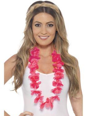 Hawaiian Lei Garland - Pink