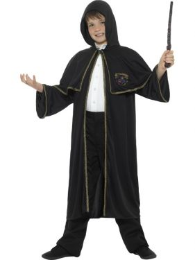 Childrens Wizard Fancy Dress Cloak