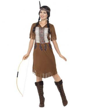 Ladies Native American Indian Warrior Princess