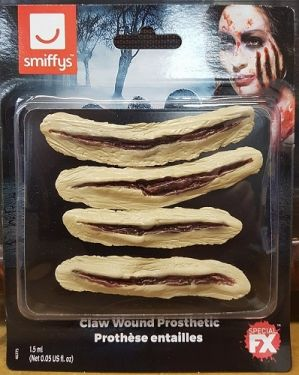 Halloween Latex Claw Wound Prosthetic Make Up