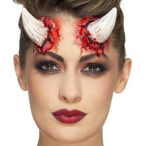 Halloween Latex Devil Horns Prosthetic