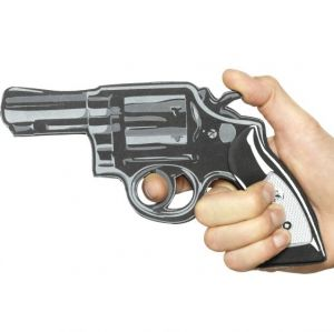 EVA Cartoon Pistol Gun