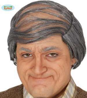 Old Man Wig and Headpiece