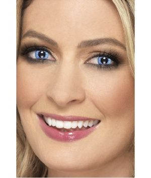 One Day Wear Natural Blue Contact Lenses - 1 Pair