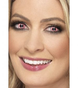One Day Wear Zombie Bloodshot Contact Lenses
