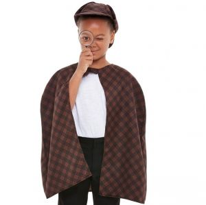 Childs Detective Fancy Dress Kit