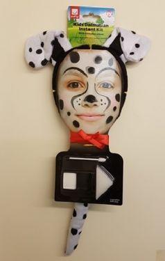 Dalmation Dog Make up Kit