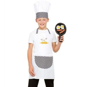 Childs Chef Cook Fancy Dress Kit
