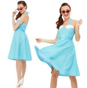 Ladies 50s Pin Up Costume