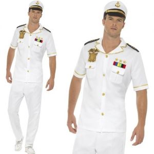 1980's Short Sleeve Sailor Captain Officer