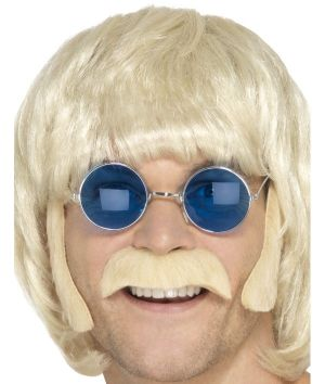 60s 70s Hippy Disguise Set - Blonde