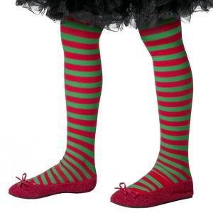 Childrens Opaque Elf Tights