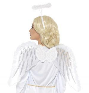 Pure Angel Fancy Dress Wings & Halo Set