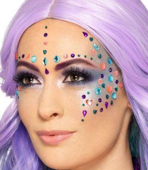 Assorted Jewel Face Gems Make Up